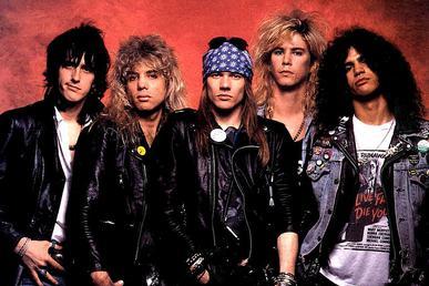 Guns N' Roses eredeti felállás