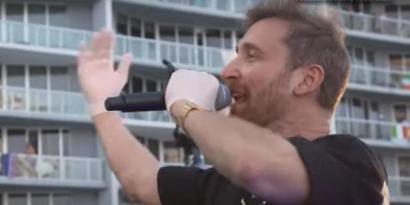 David Guetta tetőkoncert 2020