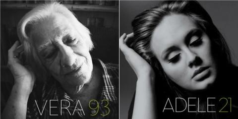 Adele lemezborító