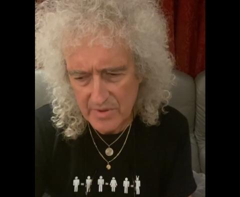 Brian May szívroham