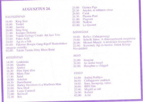 Diáksziget 1993