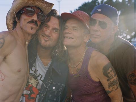 Red Hot Chili Peppers koncert 2022 Puskás Aréna