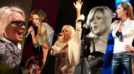 Nyolcvanas évek énekesnői - Samantha Fox, Sabrina Salerno, Sandra Cretu, C. C. Catch, Kim Wilde