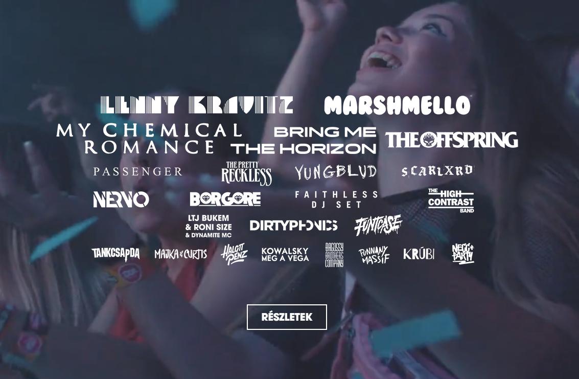 Volt Fesztivál 2020 fellépők